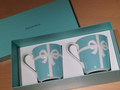 ティファニー(Tiffany) ペアマグカップ リボン 未使用品